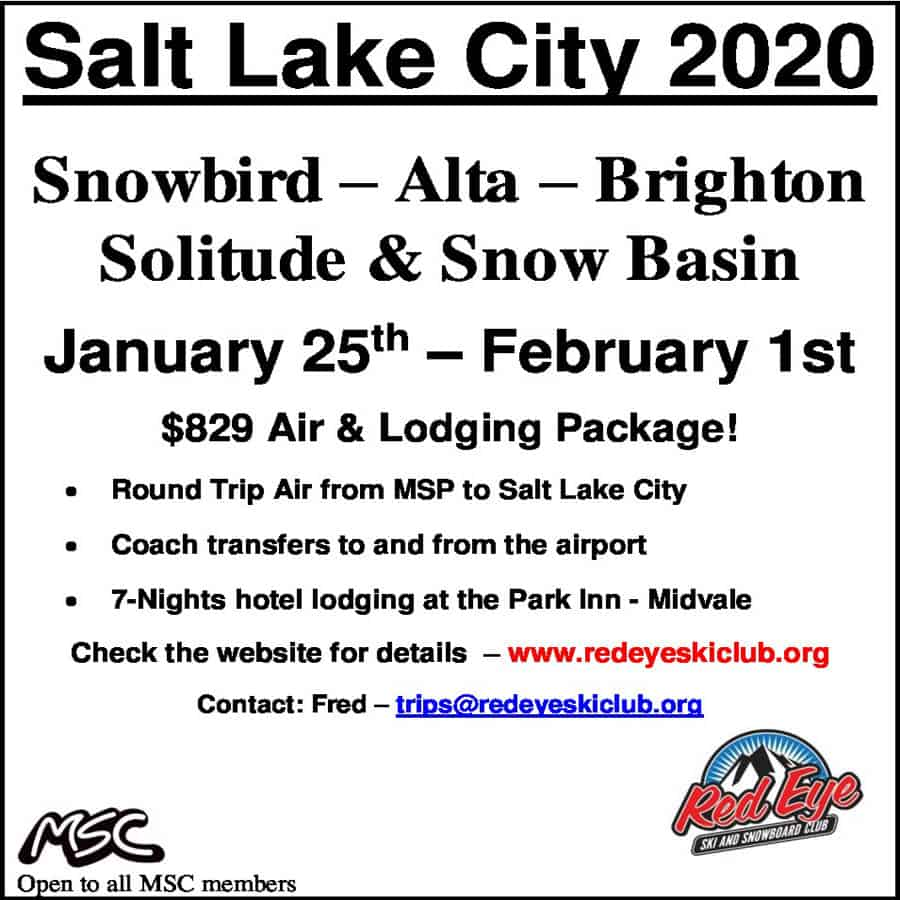 Salt Lake City Ski Trip